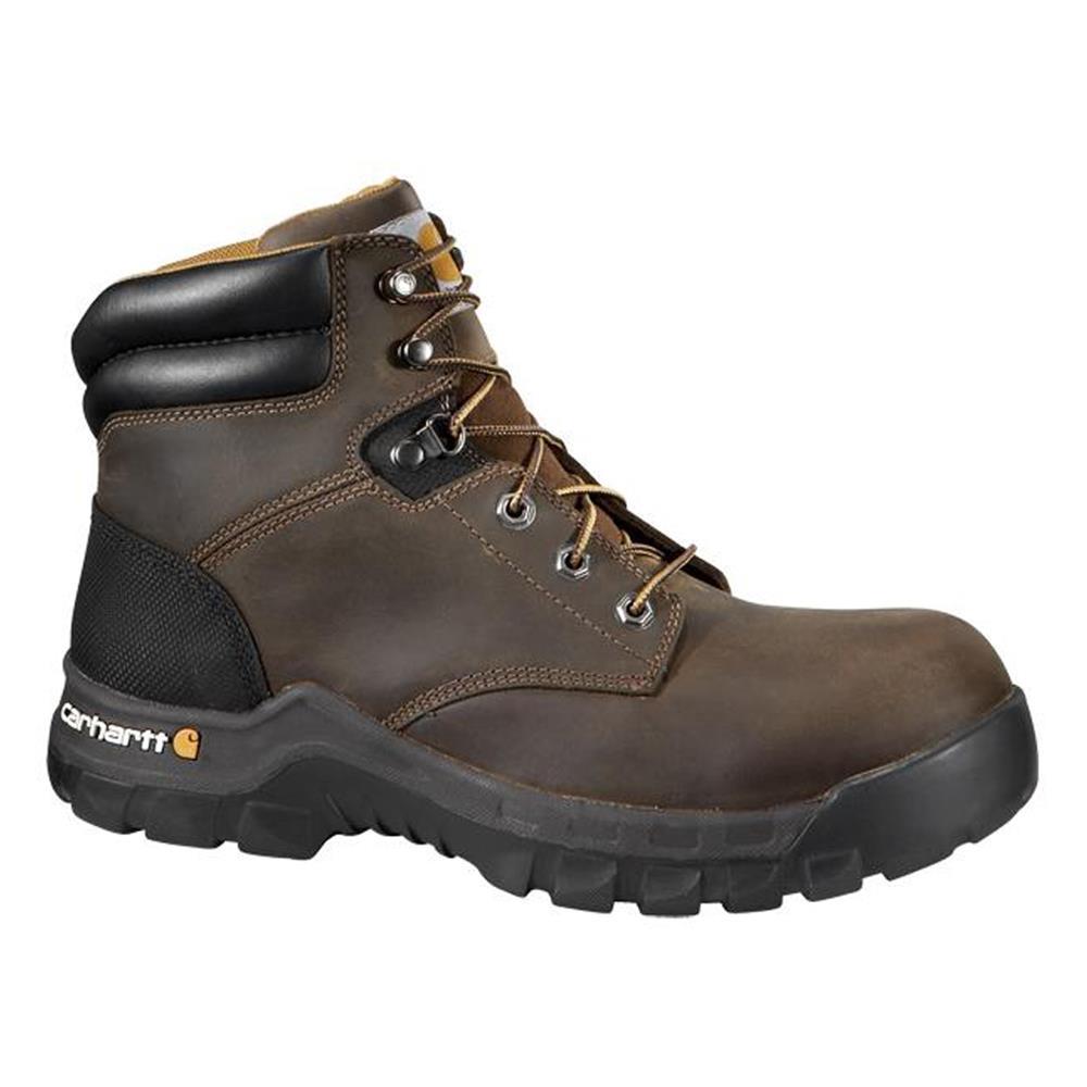 "Carhartt Work Flex 6"" Brown Composite Toe Boot 12 M"