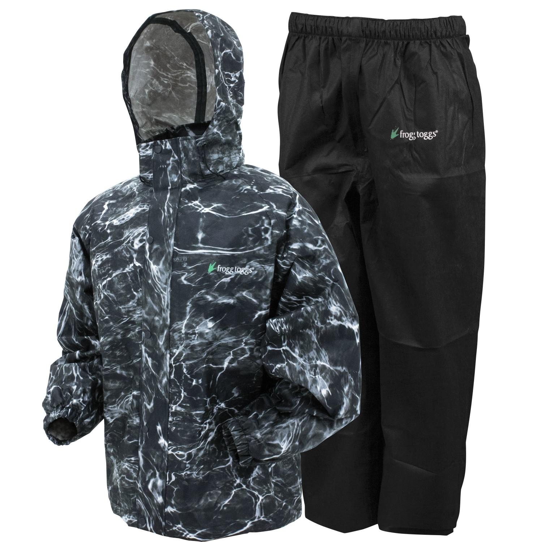 196eb722c1c AS1310-1682X Frogg Toggs All Sport Rain Suit Blacktip Black XXL ...