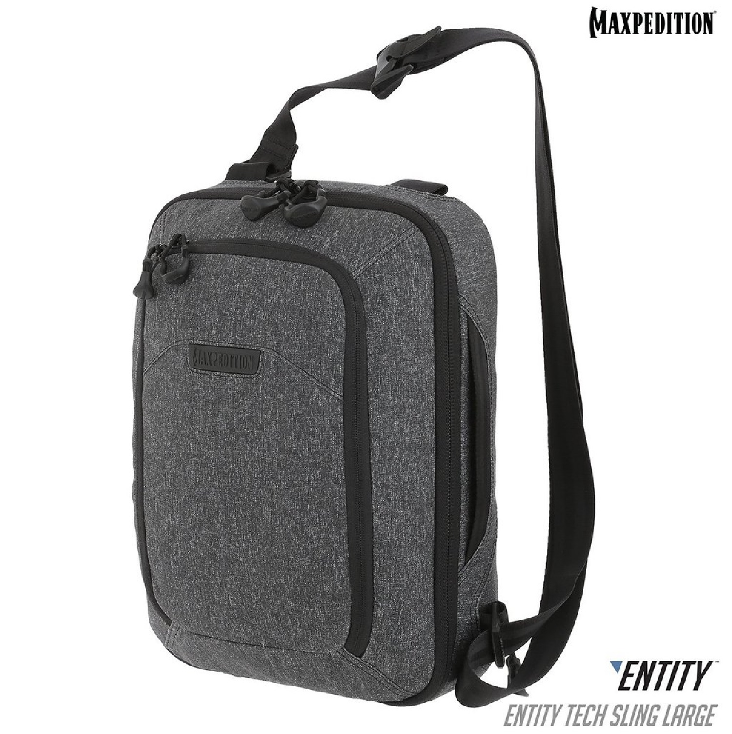 Maxpedition ENTITY Tech Sling Bag Small Charcoal NTTSLTSCH